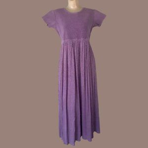 Vintage Cherokee Thermal Maxi Tee Shirt Dress